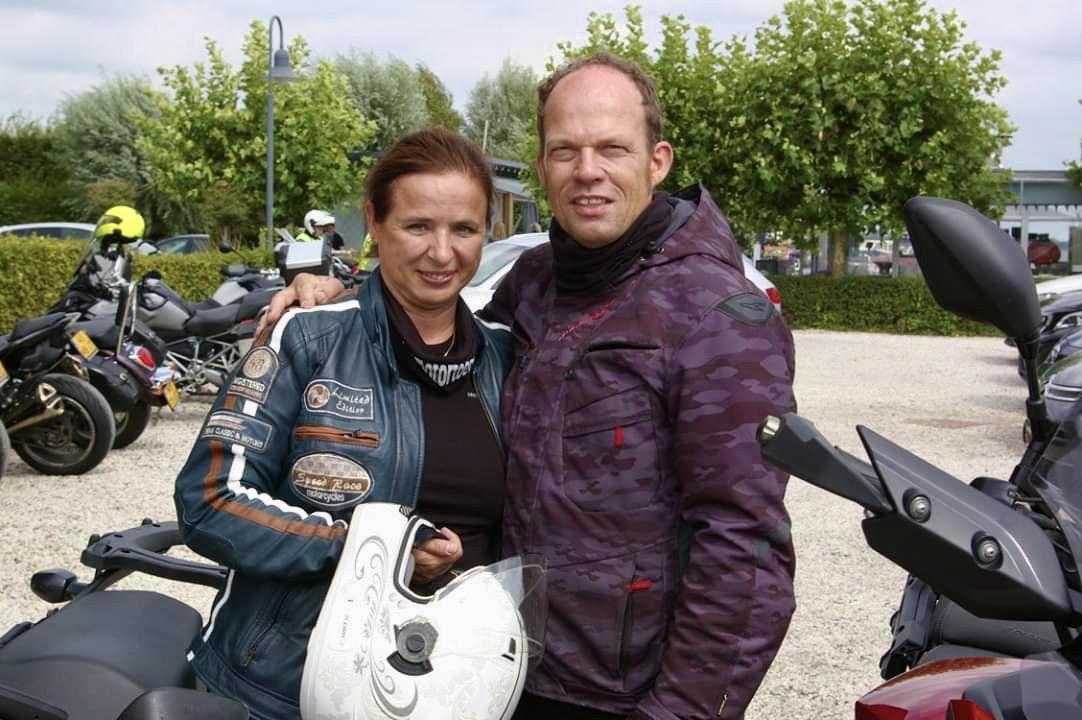 Alena en Ron van der Linden